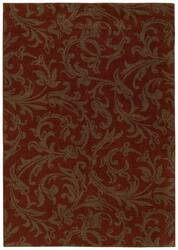 Shaw Origins Diva Cayenne Red 06800 Area Rug