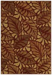 Shaw Tommy Bahama Home-Nylon Painted Palms Cranberry 26800 Area Rug