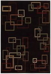 Shaw Inspired Design Cubist Black 17500 Area Rug