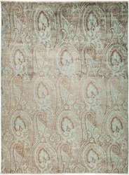 Solo Rugs Ikat M1877-43  Area Rug