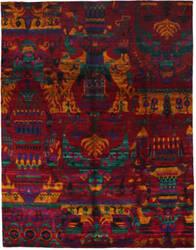 Solo Rugs Sari Silk 177948  Area Rug