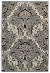 St. Croix Structure Ct118 Silver Area Rug