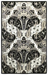 St. Croix Structure Ct119 Black Area Rug