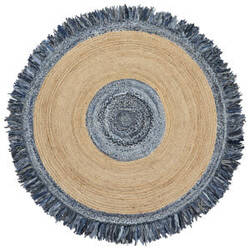 St. Croix Earth First Dh05 Blue Area Rug