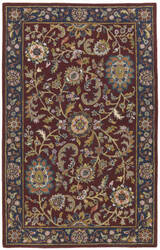 St. Croix Traditions Pt31 Red Area Rug