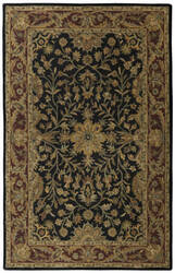 St. Croix Traditions Pt36 Black Area Rug