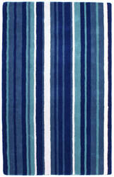 St. Croix Cosmo Sct04 Blue Area Rug