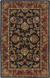Custom Surya Ancient Treasures A-108 Black-Red Area Rug