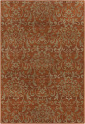Surya Arabesque ABS-3007 Chocolate Area Rug