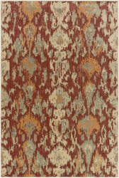 Surya Arabesque Abs-3056 Rust Area Rug