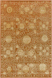 Surya Arabesque Abs-3058 Rust Area Rug