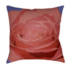 Surya Abstract Floral Pillow Af-003