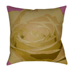 Surya Abstract Floral Pillow Af-004