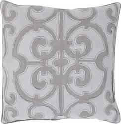 Surya Amelia Pillow Al-004 Medium Grey/Lilac