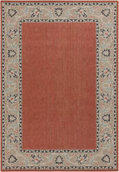 Surya Alfresco ALF-9598 Beige / Green / Red Area Rug