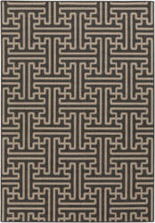 Surya Alfresco ALF-9604 Taupe / Black Area Rug