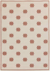 Surya Alfresco ALF-9605 Beige / Red Area Rug