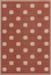 Surya Alfresco ALF-9611 Beige / Red Area Rug
