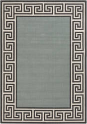 Surya Alfresco ALF-9625 Black / Green Area Rug