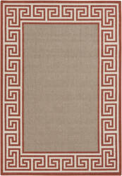 Surya Alfresco ALF-9628 Beige / Red Area Rug