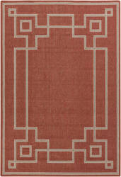 Surya Alfresco ALF-9631 Beige / Red Area Rug