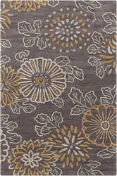 Surya Ameila AME-2230 Charcoal / Blue / Orange Area Rug