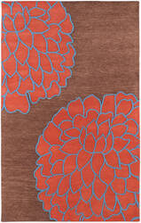 Rugstudio Sample Sale 28019R Chocolate Area Rug