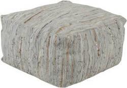 Surya Anthracite Pouf Atpf-002