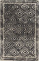 Surya Atlas ATS-1001 Coal Black Area Rug