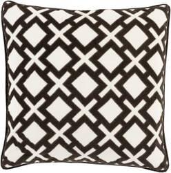 Surya Alexandria Pillow Ax-003 Black