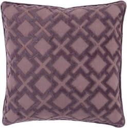 Surya Alexandria Pillow Ax-004 Mauve/Dark Purple