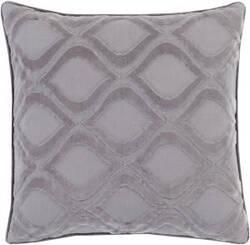 Surya Alexandria Pillow Ax-010 Medium Grey/Charcoal