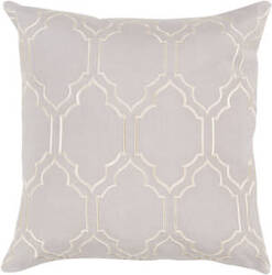 Surya Skyline Pillow Ba-043 Light Gray