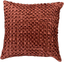 Surya Andrew Pillow Bb-044 Burnt Orange