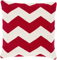Surya Bold Geo Pillow Bd-004 Red