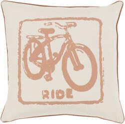 Surya Big Kid Blocks Pillow Bkb-016 Camel