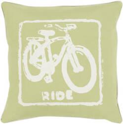 Surya Big Kid Blocks Pillow Bkb-021 Lime