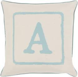Surya Big Kid Blocks Pillow Bkb-022 Aqua