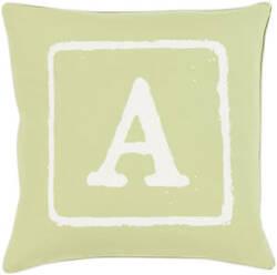 Surya Big Kid Blocks Pillow Bkb-028 Lime