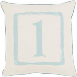 Surya Big Kid Blocks Pillow Bkb-036 Aqua