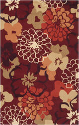 Surya Brentwood Bnt-7691 Poppy Red Area Rug