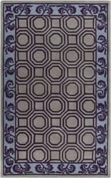 Surya Bordeaux BRD-6005 Violet (purple) Area Rug