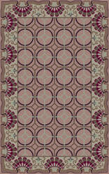 Surya Bordeaux BRD-6019 Purple Area Rug