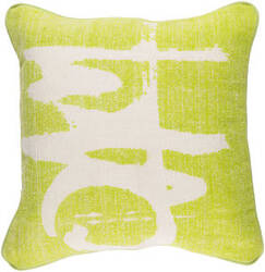 Surya Bristle Pillow Bt-004 Lime
