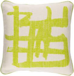Surya Bristle Pillow Bt-008 Lime