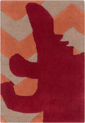 Surya Budding BUD-2007 Orange / Red Area Rug