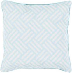 Surya Basketweave Pillow Bw-002 Aqua