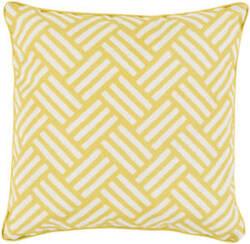 Surya Basketweave Pillow Bw-003 Yellow