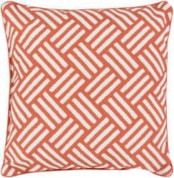 Surya Basketweave Pillow Bw-004 Orange