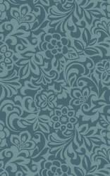 Surya Modern Classics CAN-2047 Teal Blue Area Rug
